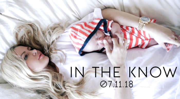 in the know 07.11.18 mom and newborn baby
