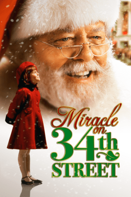 Social Stepmom Yaya and Poppy favourite holiday movies Miracle on 34th Street