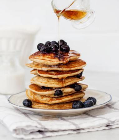 Fluffy vegan soy-free gluten-free pancake recipe