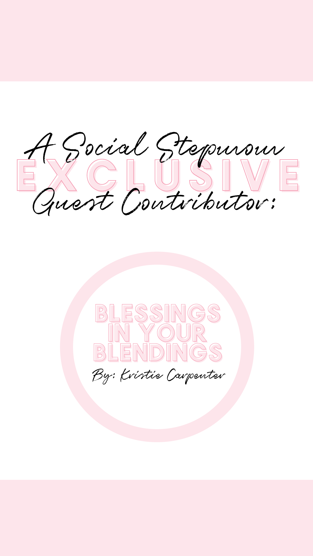 Blessings in your Blending: Living in Reality