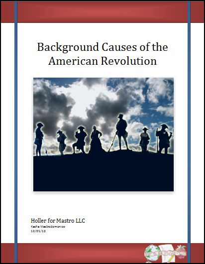 Causes of the American Revolution Lesson