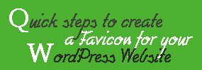 quick-steps-create-favicon-wordpress-website