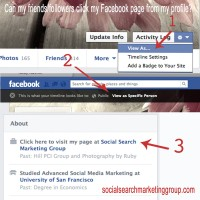{Quick Tip} How to check if the Facebook business page in your profile is clickable?