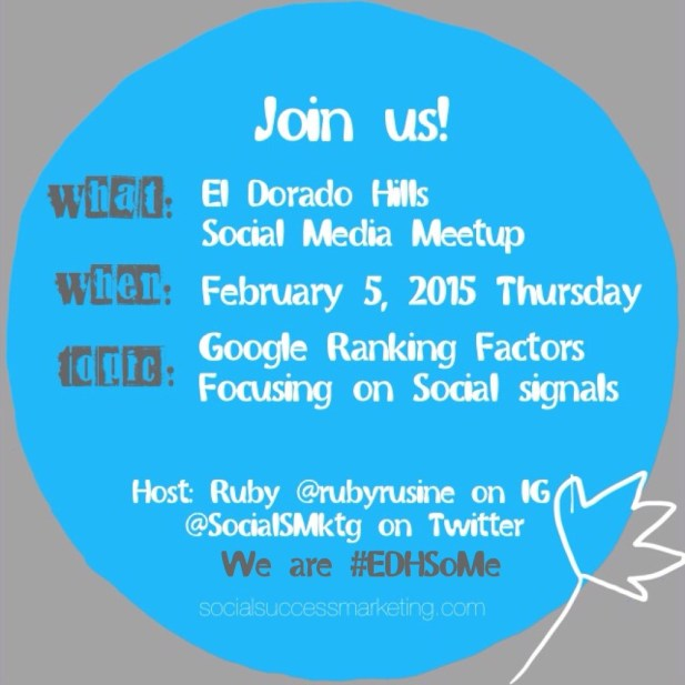 Google Ranking Factors | Social Media Meetup Topic
