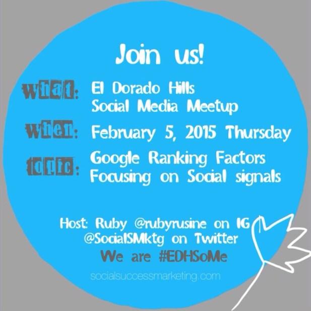 Google Ranking Factors | Social Media Meetup Topic