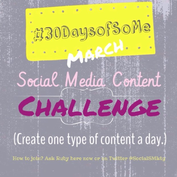 Social Media Content Challenge Image
