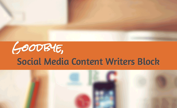 Social Media Writers Block