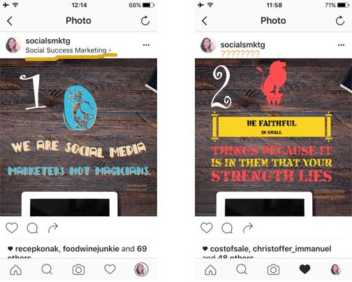 Instagam Tips: How to be visible