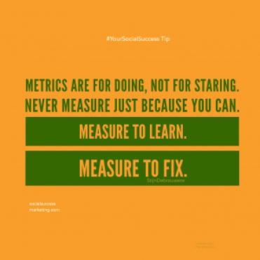 social media metrics kpi