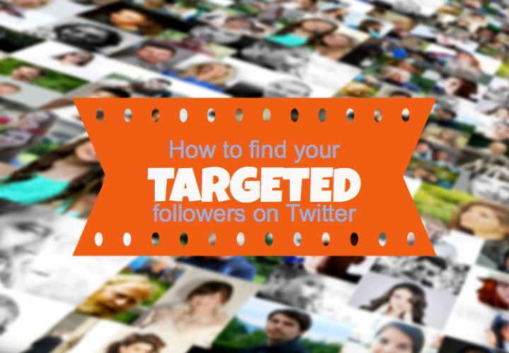 find targeted Twitter followers
