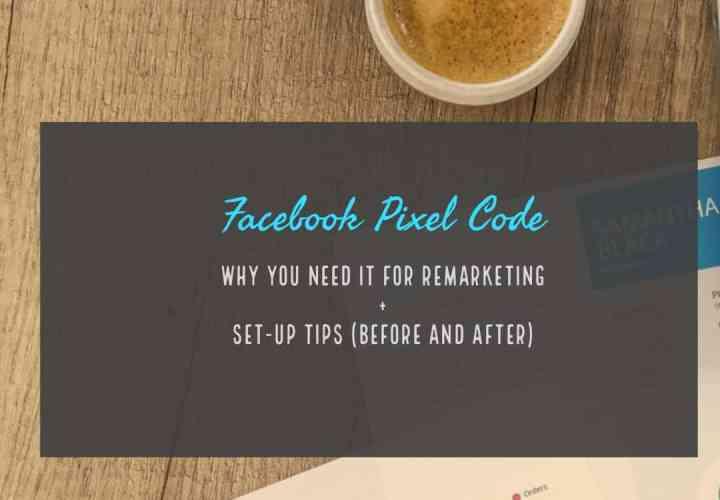 Facebook pixel code set up