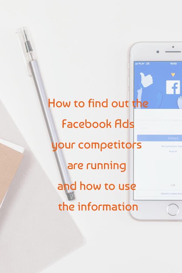 facebook advertising library