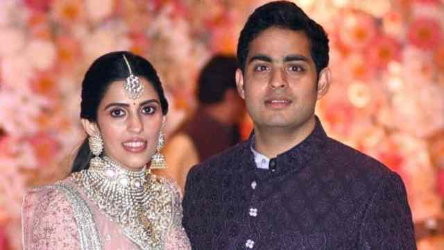 Akash Ambani and Shloka Wedding