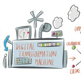 'Digital transformation Machine' . Photo by Flickr ID Bryan Mathers (CC)