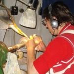 glass cutting machine Julianna Glassware