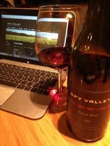 2013 Spy Valley Pinot Noir Marlborough vertical