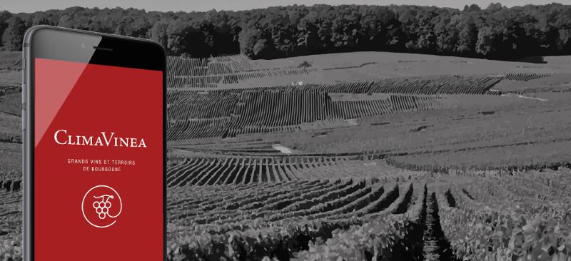 Mobile App to Explore 1400 Burgundy Vineyards: CLIMAVINEA