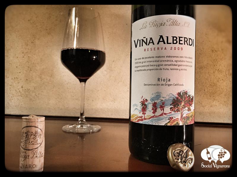 2009 La Rioja Alta Viña Alberdi, Rioja, Spain