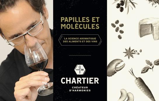 'Papilles et molecules' - 'Taste Buds & Molecules' book by Francois Chartier