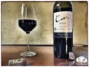 2011 CVNE Compnia Norte Espana Cune Reserva Rioja Spain Tempranillo wine vino social vignerons small