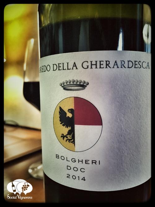 2014 Walfredo della Gherardesca Bolgheri wine bottle front label Tuscany social vignerons