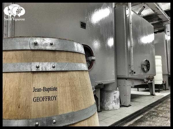 Champagne Rene Geoffroy winery tanks barrels social vignerons