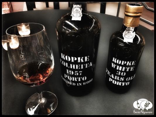 LA Wine Competition Medal Winners Old Port Wines Kopke Colheita 1957 30 Year Old white Port SV