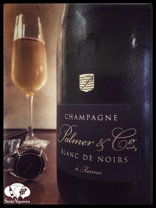 Plamer & Co Blanc de Noirs Champagne sparkling wine front label social vignerons