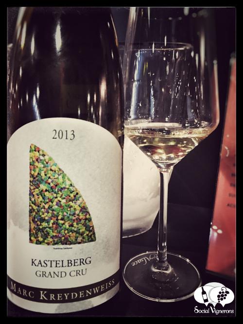 2013 Marc Kreydenweiss Riesling Kastelberg Grand Cru Alsace France front label small