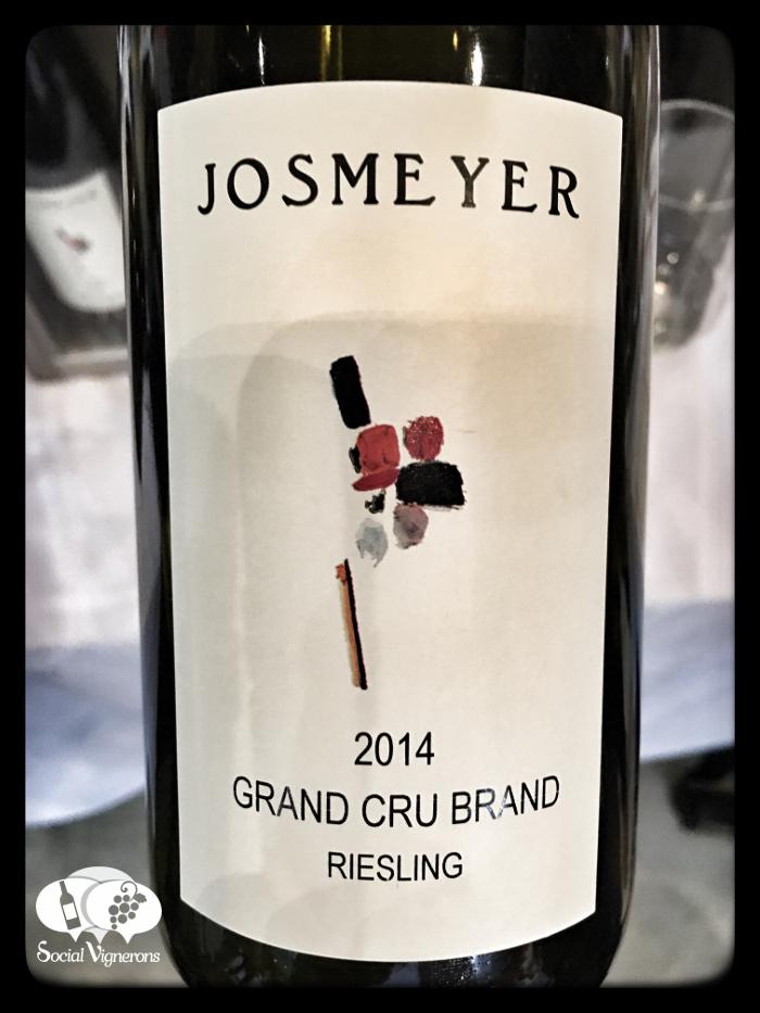 2014 Josmeyer Riesling Brand Grand Cru, Alsace