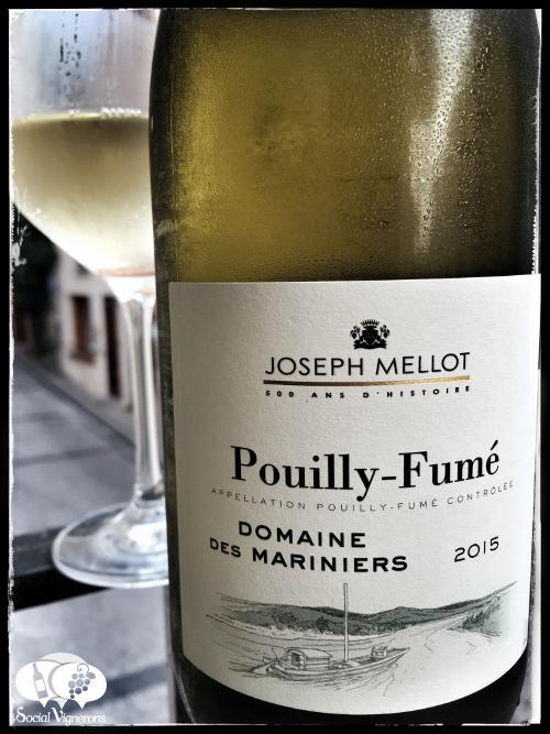 2015 Joseph Mellot Domaine des Mariniers Pouilly-Fumé Sauvignon Blanc wine front label small