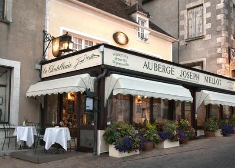 Auberge Joseph Mellot Restaurant in Sancerre Loire Valley wines