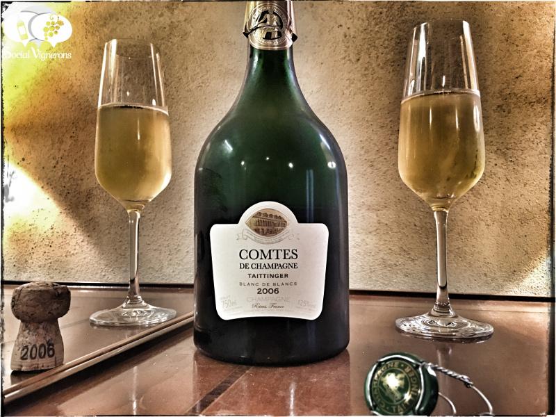 2006 Taittinger Comtes de Champagne Blanc de Blancs, France