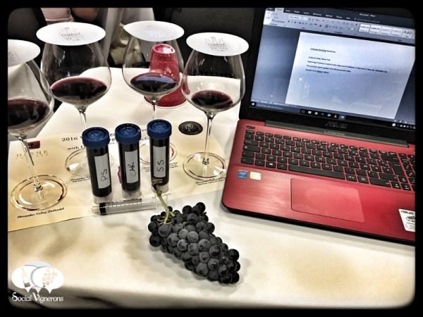 Zinfandel Blending Workshop at 2016 Wine Bloggers Conference grape social vignerons