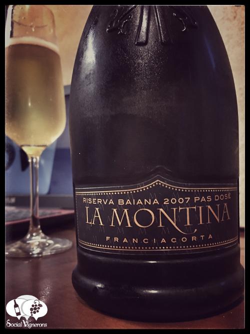 2007-la-montina-riserva-la-baiana-pas-dose-franciacorta-front-label-sparkling-wine-italy-bottle-glass
