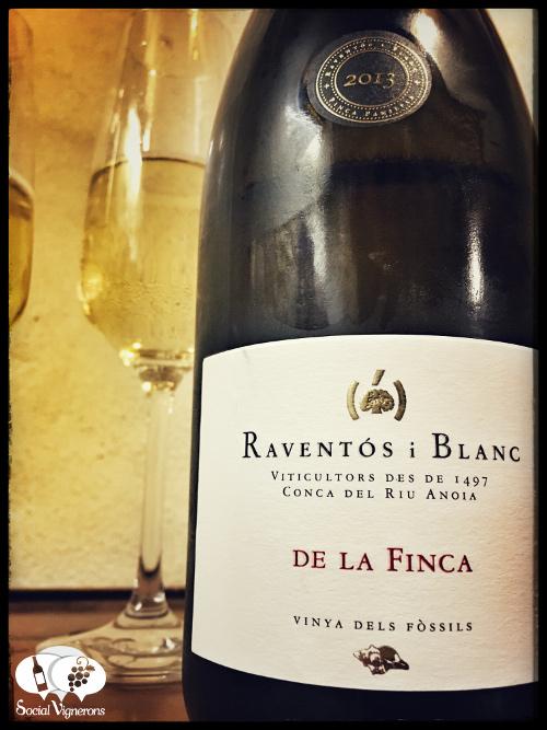 2013-raventos-i-blanc-de-la-finca-sparkling-vinya-dels-fossils-wine-from-catalonia-front-label-review-social-vignerons