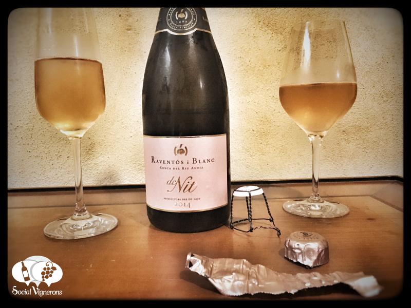 2014 Raventós i Blanc de Nit, Rosé Sparkling wine from Catalonia