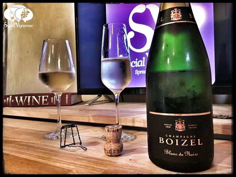 Champagne Boizel Blanc de Noirs Brut : Vibrant & Extrovert !