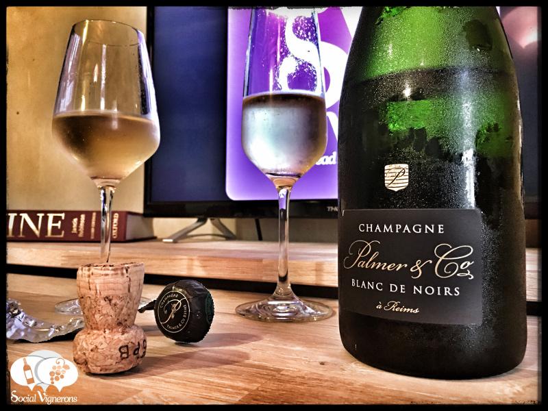 Champagne Palmer & Co Blanc de Noirs Brut : Fresh & Elegant !