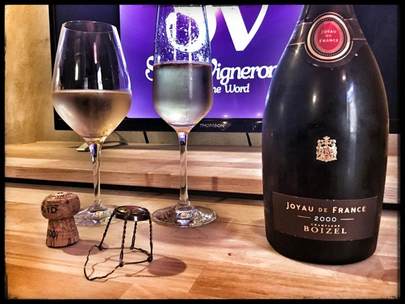 2000 Champagne Boizel Joyau de France Brut :  Sensational & Outstanding !