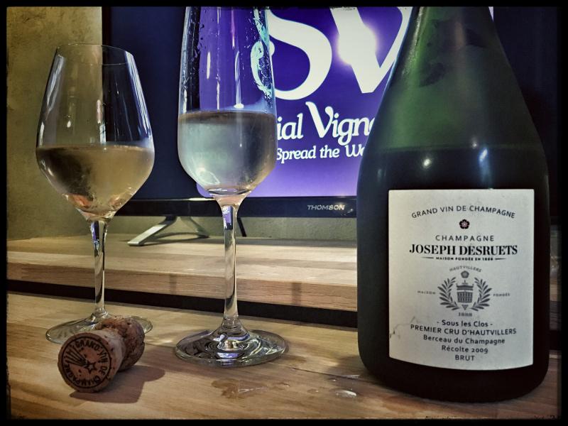 2009 Champagne Joseph Desruets 'Sous les Clos' Premier Cru Brut: Apple & Mango!