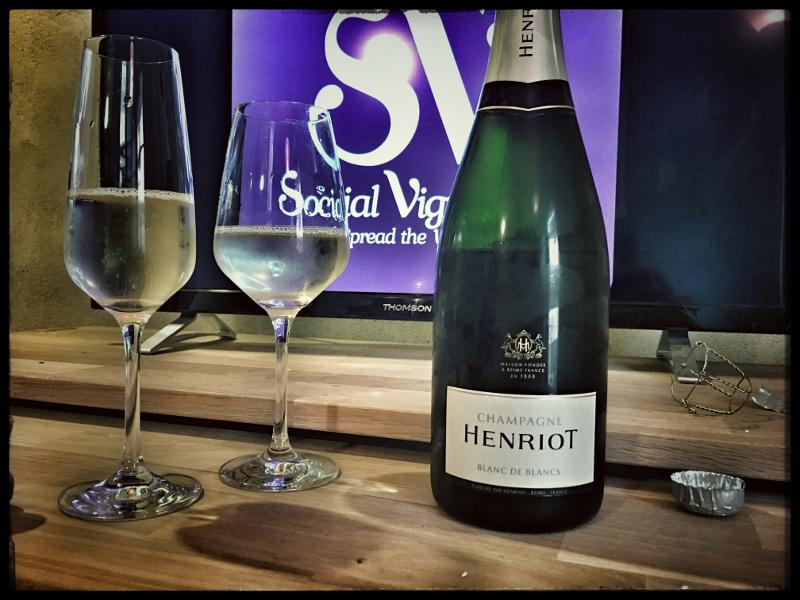 Champagne Henriot Blanc de Blancs Brut : Vibrant & Approachable !