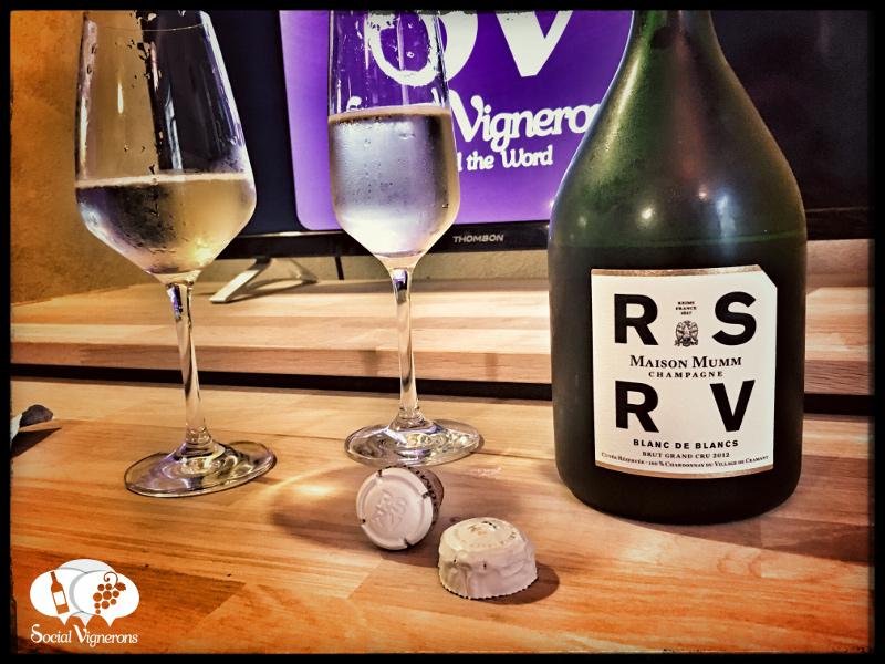 2012 Maison Mumm RSRV Blanc de Blancs Grand Cru Brut : Exuberant & Fascinating!