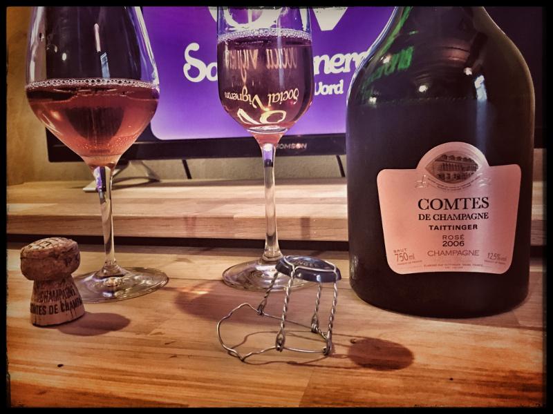2006 Taittinger Comtes de Champagne Rosé Brut: Intense & Unique!