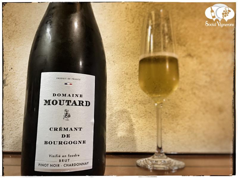 Domaine Moutard Crémant de Bourgogne Vinifié en Foudre Brut, Sparkling Burgundy Wine