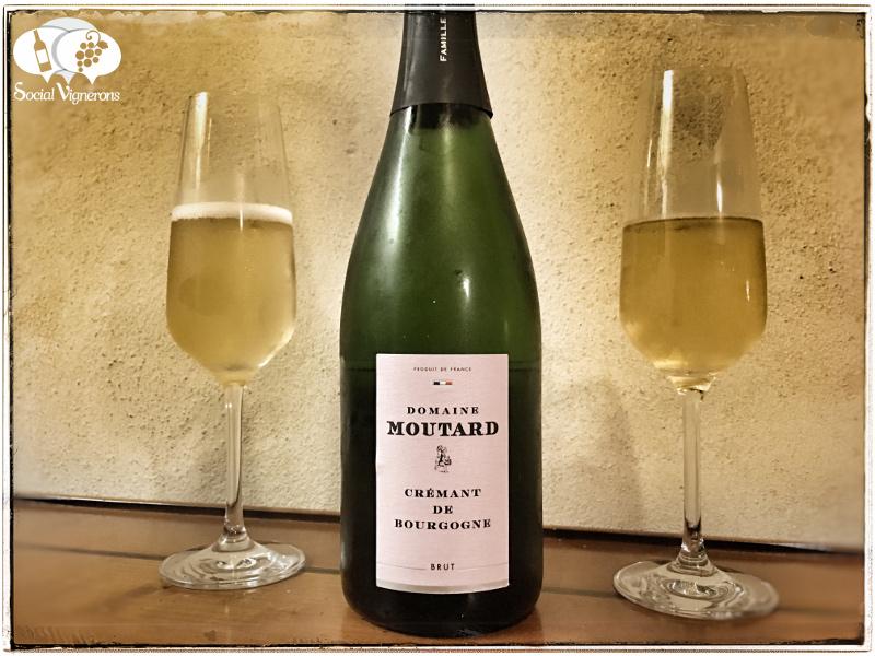 Moutard Crémant de Bourgogne Brut, Sparkling Burgundy Wine