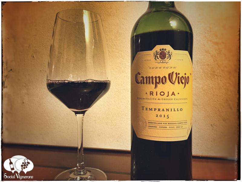 2015 Campo Viejo Tempranillo, Rioja