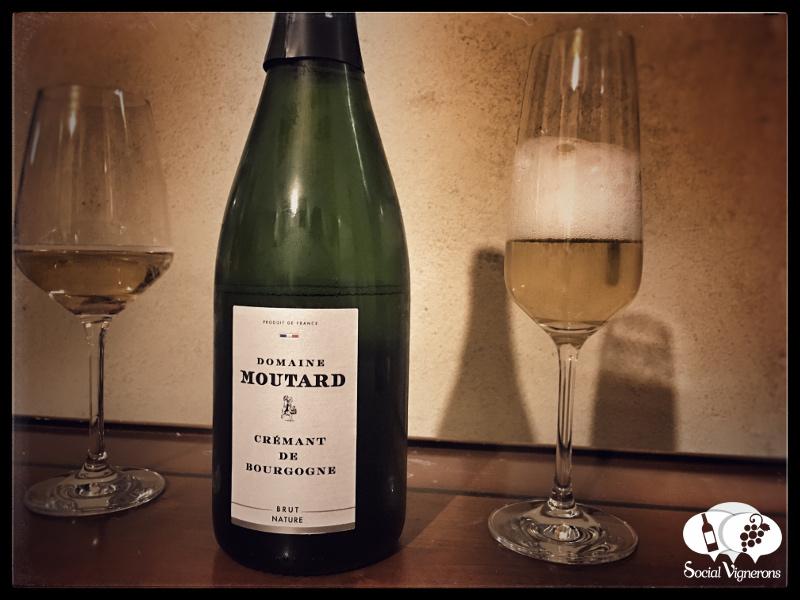 Domaine Moutard Crémant de Bourgogne Brut Nature, Sparkling Burgundy Wine