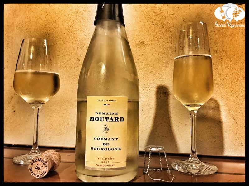 Moutard Crémant de Bourgogne Les Vignolles Brut Chardonnay, Sparkling Burgundy Wine