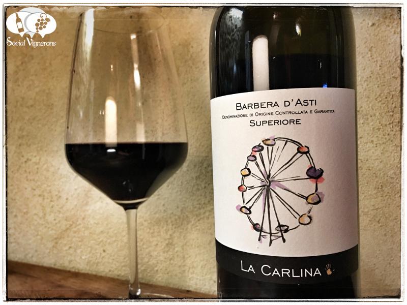 2015 La Carlina Barbera d'Asti Superiore DOCG, Piedmont, Italy
